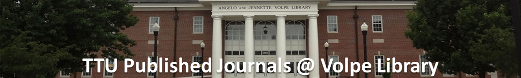 TTU Published Journals @ Volpe Library